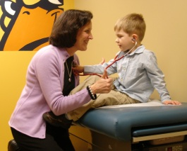 Doctor and patient - Toledo Pediatricans